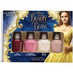 Beauty and the Beast 4 Pc Mini Set