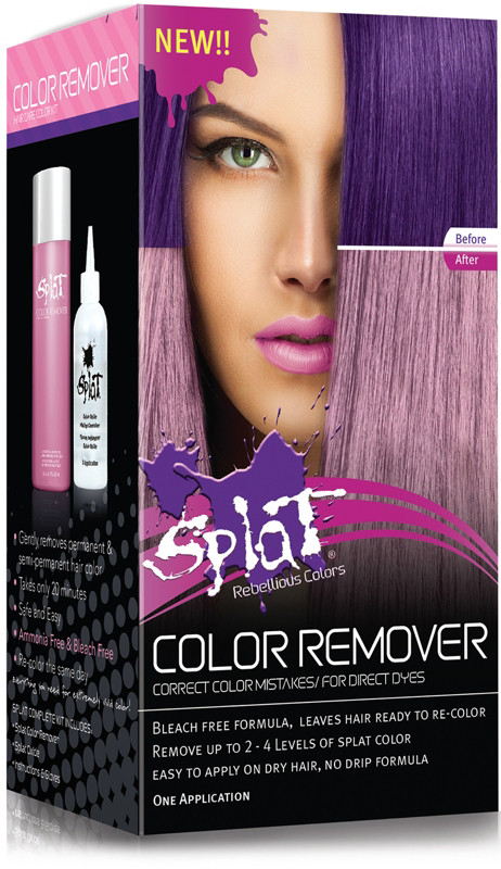 Splat Hair Color Remover Find Your