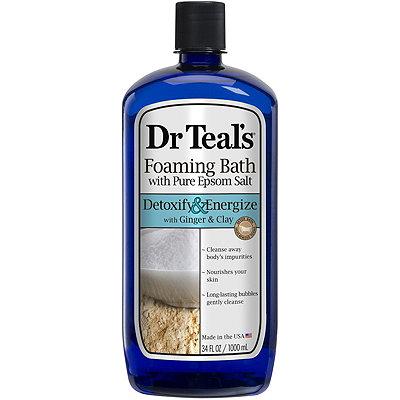 Dr. TealsDetox Ginger %26 Clay Foaming Bath