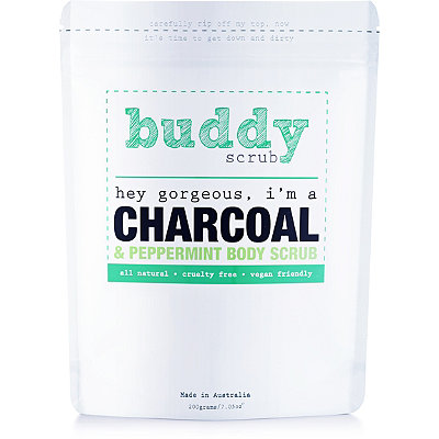Buddy ScrubActivated Charcoal Body Scrub