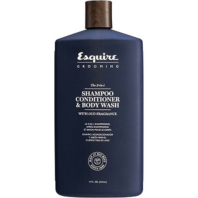 Esquire GroomingThe 3-in-1 Shampoo, Conditioner & Body Wash