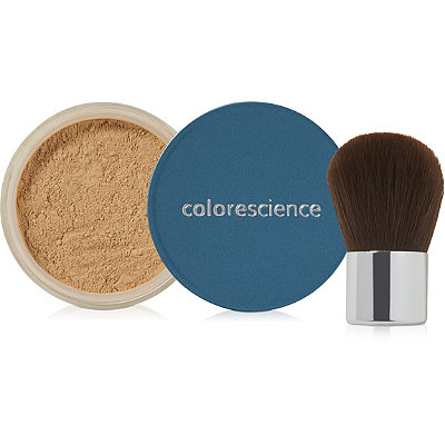 Colorescience Online Only FREE mini Colorescience Sunforgettable Powder in Medium %26 mini Kabuki w%2Fany %2460 Colorscience purchase