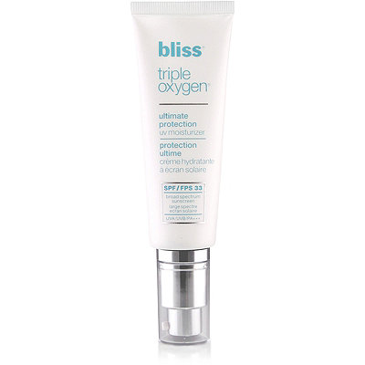 Bliss Triple Oxygen Ultimate Protection UV Moisturizer SPF 33