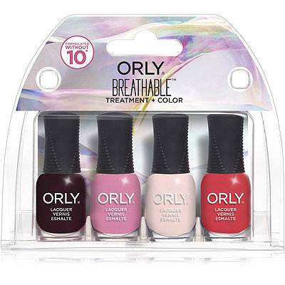 Orly Online Only 4 Piece Breathable Treatment %2B Color Mini Kit