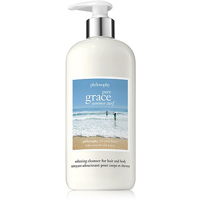 PhilosophyOnline Only Pure Grace Summer Surf Softening Cleanser for Hair and Body