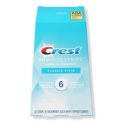 Crest 3D White Whitestrips Classic Vivid - Teeth Whitening Kit