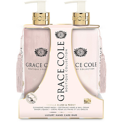 Grace Cole Vanilla Blush %26 Peony Hand Care Duo