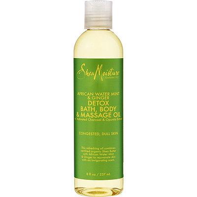 SheaMoistureAfrican Wild Water Mint Massage Oil