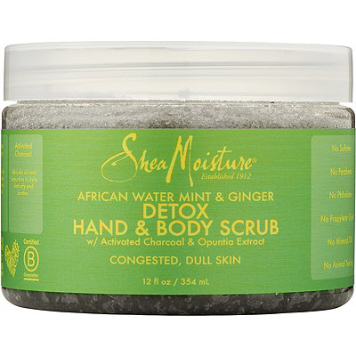 SheaMoisture African Wild Water Mint Hand %26 Body Scrub