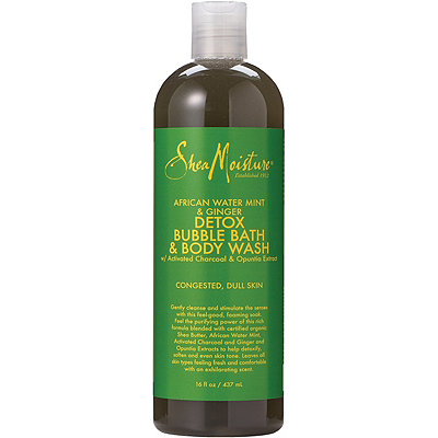 SheaMoistureAfrican Water Mint Bubble Bath Body Wash