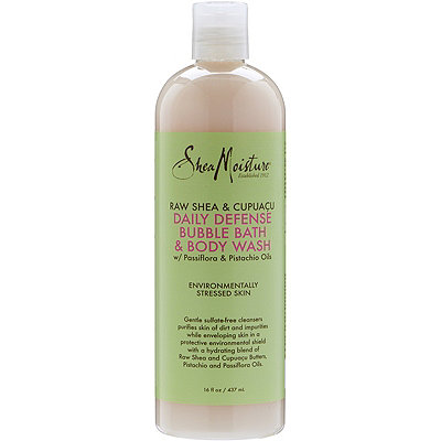 SheaMoisture Raw Shea %26 Cupuacu Hydro Defense Bubble Bath Body Wash