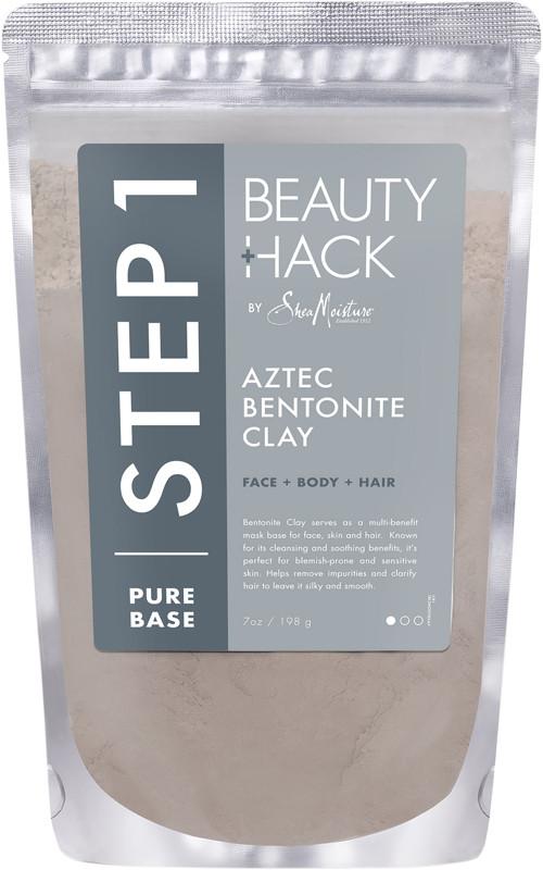 Sheamoisture Beautyhack Face Body Hair Aztec Bentonite Clay