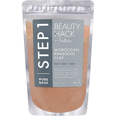 SheaMoisture Beauty Hack Face %2B Body %2B Hair Moroccan Rhassoul Clay