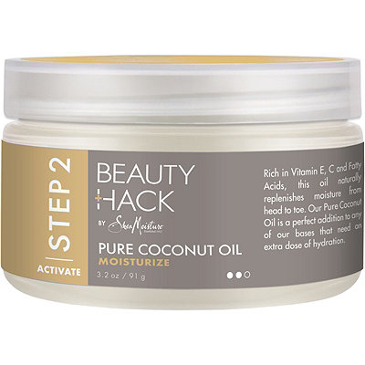 SheaMoistureBeauty Hack 100% Pure Coconut Oil
