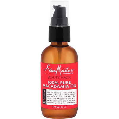 SheaMoistureBeauty Hack 100%25 Pure Macadamia Oil