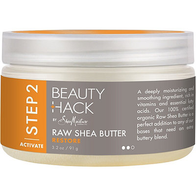 SheaMoisture Beauty Hack 100%25 Pure Raw Shea Butter