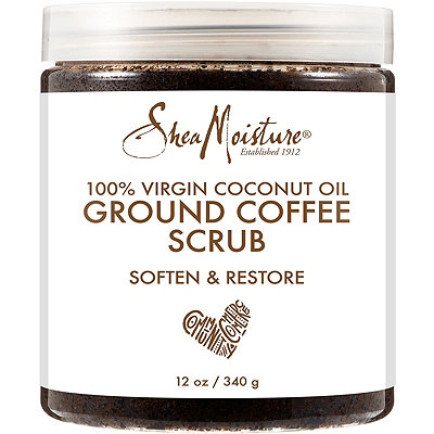 SheaMoisture Coconut Oil Coffee Scrub