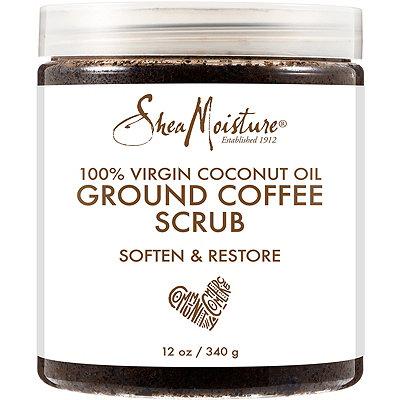 Coconut Oil Coffee Scrub