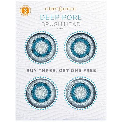 ClarisonicDeep Pore Brush Head 4-Pack