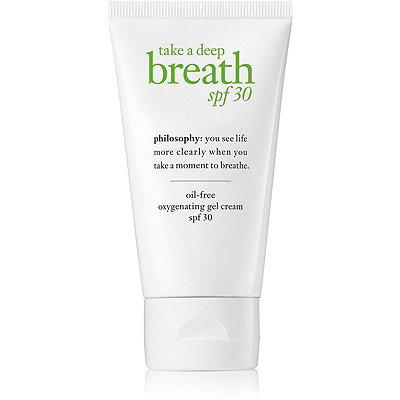 Take A Deep Breath Oil-Free Oxygenating Gel Cream SPF 30