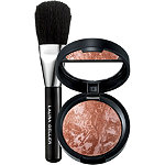 FREE travel size Baked Blush-N-Brighten in Honeysuckle with Brush w%2Fany %2435 Laura Geller purchase