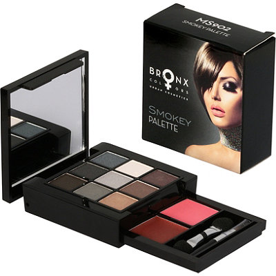Bronx Colors Online Only Smokey Palette Makeup Set