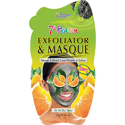 Montagne JeunesseOrange Peel %26 Black Lava Exfoliator Mask