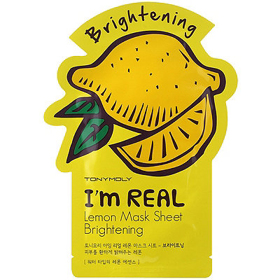 TONYMOLYI%27m Real Lemon Mask Sheet