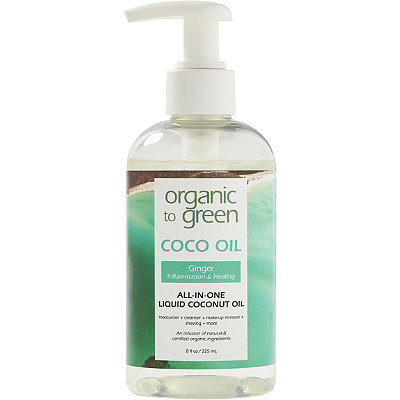 Organic to Green Online Only Ginger Coconut Oil for Face - Healing