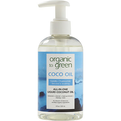 Organic to Green Online Only Coco Oil Vanilla Chamomile Sensitive %26 Soothing