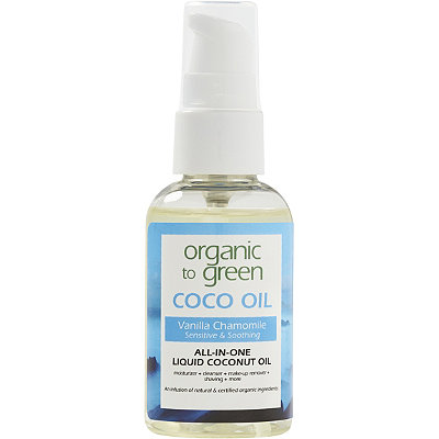 Organic to Green Online Only Travel Size Coco Oil Vanilla Chamomile Sensitive %26 Soothing