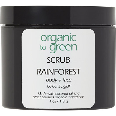 Organic to Green Online Only RAINFOREST - Sugar Scrub