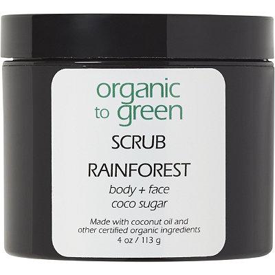 Organic to GreenOnline Only RAINFOREST - Sugar Scrub