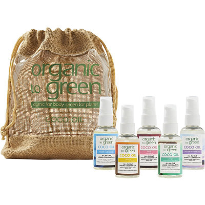 Organic to Green Online Only Mini Coco Oil Travel Kit
