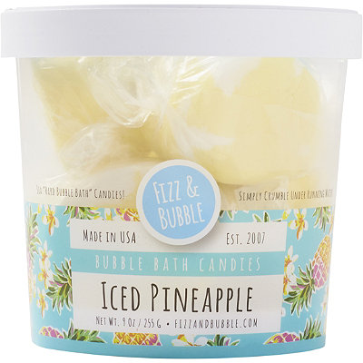 Fizz & Bubble Iced Pineapple Bubble Bath Candies