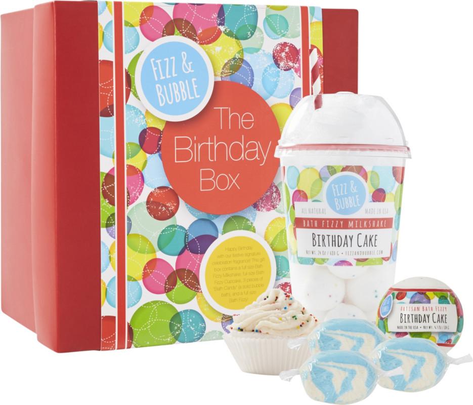 Fizz Bubble Birthday Cake Gift Box