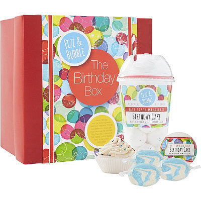 Fizz & Bubble Birthday Cake Gift Box