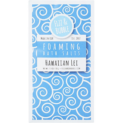 Fizz & Bubble Hawaiian Lei Individual Bath Salts