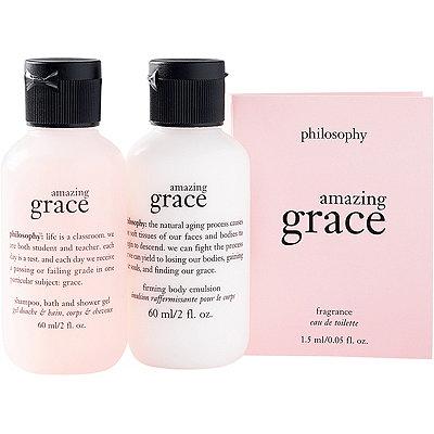 PhilosophyFREE 3-pc Amazing Grace Sampler w%2Fany %2435 Philosophy purchase
