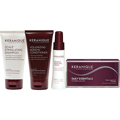KeraniqueComplete Hair Revitalizing & Volumizing Kit
