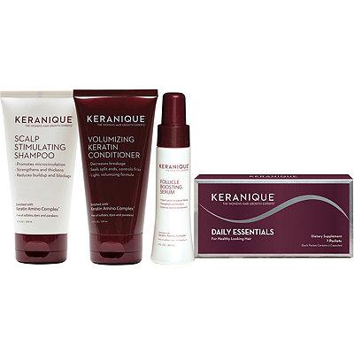 KeraniqueComplete Hair Revitalizing %26 Volumizing Kit