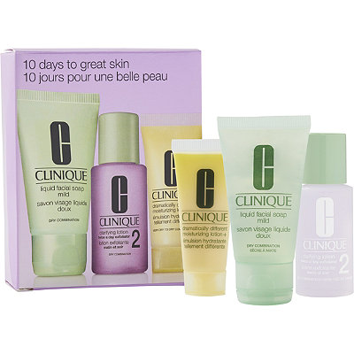 CliniqueOnline Only FREE Treat 10 day Custom-Fit 3-Step Kit w%2Fany Clinique purchase