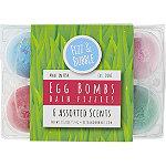 Egg 6-Pack Bath Fizzies