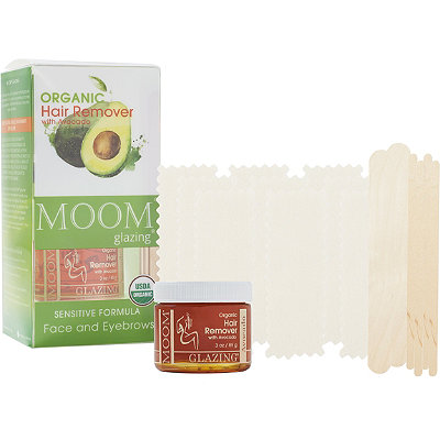 MoomOrganic Hair removal Kit with Avocado for Face and Eyebrows