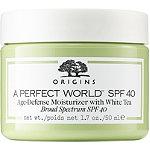 Origins A Perfect World SPF 40 Age-Defense Oil Free Moisturizer with White Tea
