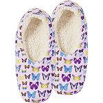 Multi-Color Butterfly Slipper Socks
