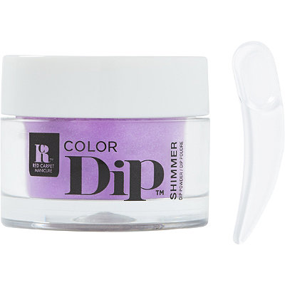 Color Dip Purple Nail Powder