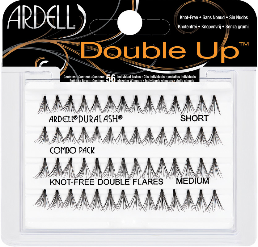 Ardell Duralash Knot-Free Double Flares COMBO PACK (65759)