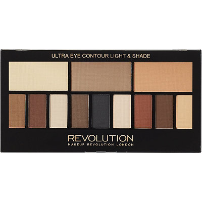 Makeup Revolution Ultra Eye Contour Light %26 Shade Palette