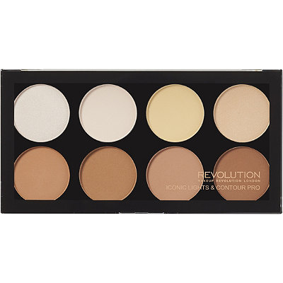 Makeup RevolutionOnline Only Iconic Lights %26 Contour Pro Palette